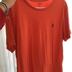 Orange Polo Ralph Lauren T-shirt